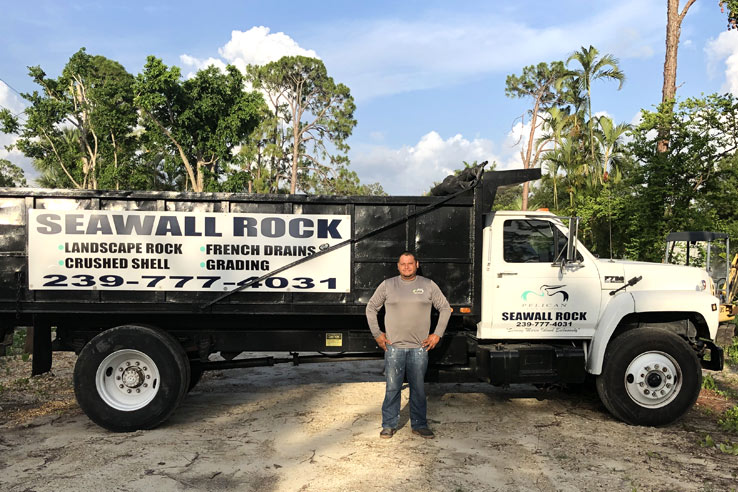 Cirino Trejo The Owner of Pelican Rock Company | Pelican Rock Company Rock Delivery Marco Island