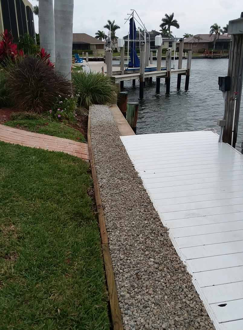 Rock Delivery Landscape Design For Residential | Pelican Rock Company Rock Delivery Marco Island